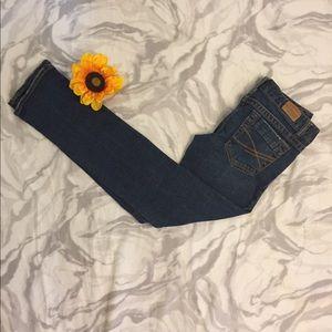 Aeropostale Dark Wash Bayla Skinny Jeans